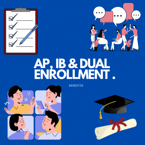 AP, IB, Dual Enrollment offer numerous benefits to participating students