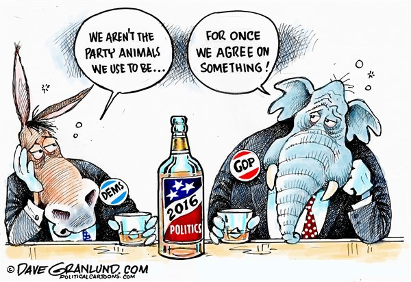 Why there are two main political parties in the U.S.?