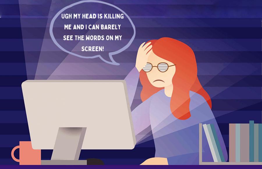 Longer classes? Shorter breaks? Virtual learning possibly damaging students' eyes