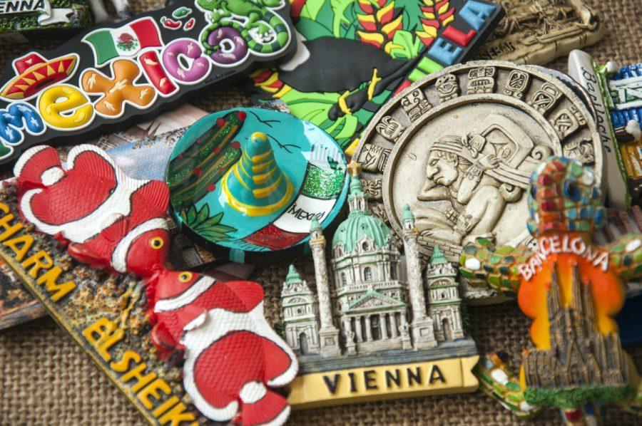fridge magnets from around the world