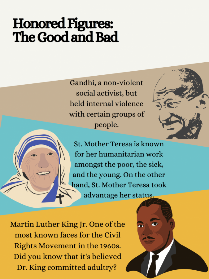 Glorification of religious historical figures: The Good and The Bad