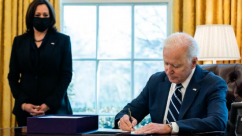 Since January, President Biden has passed a number of bills dealing with many social issues, including the pandemic and LGBTQ+ rights.